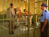 Horny gay bear prisoners 3some