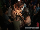 Tickle Castigation A Ripped Fellow in a Public Bar