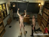 Big wang jock gets drilled and paddled by his biology daddy
