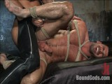 Abode slavemaster Dirk Caber and a recent muscle god