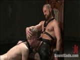 Mr Herst torments and fucks thrall #860 locked in chastity