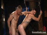 Recent captive fastened, beaten and electrified