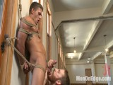 German Hunk Suspended and Edged