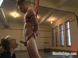 Brand recent str8 dude acquires his rough pecker edged