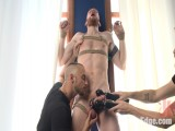 Cass Bolton – Muscled man with giant balls gets the edging of his life