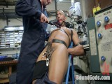 Zapped, Beaten & Drilled! – Inactive Shop Worker Takes His Punishment