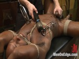 Hung KinkMen PA Explores the Thraldom Wall and Receives Edged