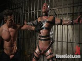 Prison Punk Scared Straight by Dissolute Officer Ducati