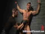 Straight Hunk – Solid Muscle – Mercilessly Beaten and Made to Cum
