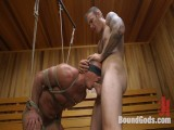 Straight Dude in the Locker Room is Abducted and Fucked!